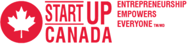 Start Up Canada logo. Entrepreneurship Empowers Everyone TM