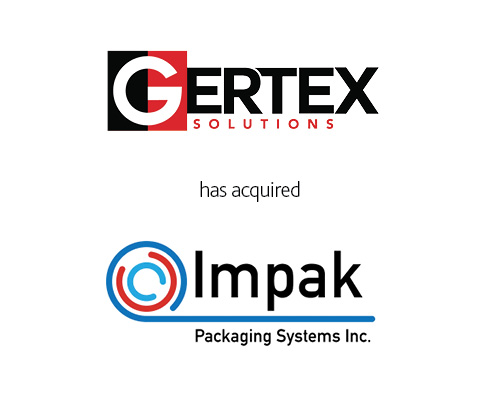 Gertex Solutions has acquired Impak Packaging Systems Inc.
