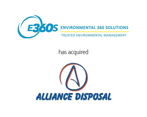 Environmental 360 Solutions has acquired Alliance Disposal