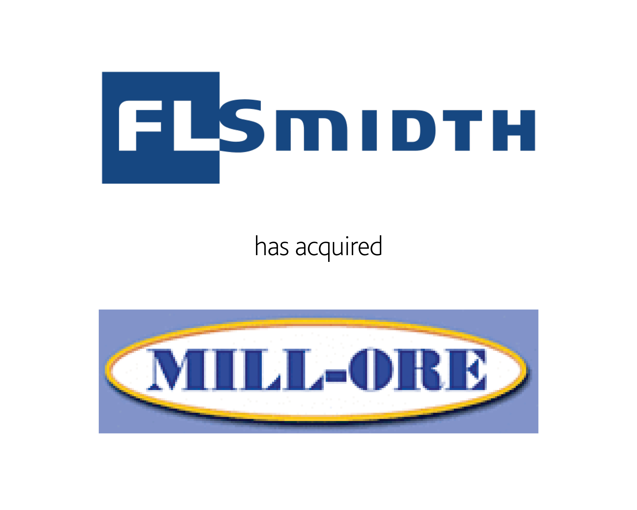 FLSmidth has acquired Mill-Ore